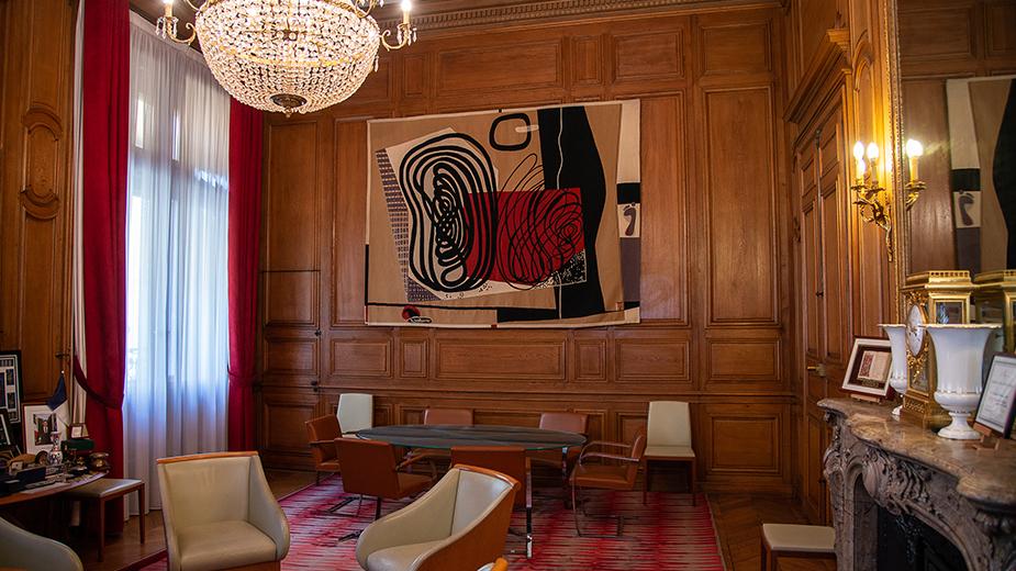 Bureau Le Corbusier : Bureau du premier président cour des comptes