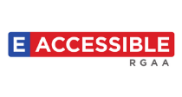 Logo du label « e-accessible »