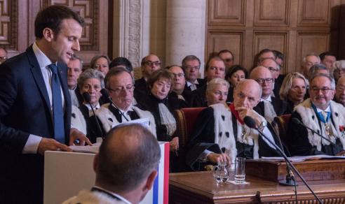 Audience solennelle de rentrée de la Cour des comptes